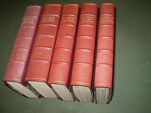 Samlede skrifter. Udgivne af Hans Brix og Palle Raunkjær. 1-5 + noter.: AARESTRUP, EMIL