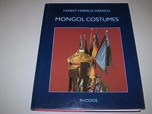 Mongol Costumes: Henny Harald Hansen