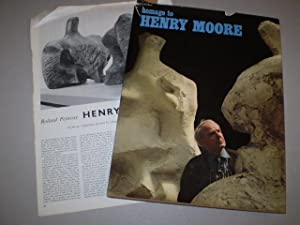 Homage to Henry Moore: Special issue of: G. di San