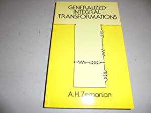 Generalized Integral Transformations: Zemanian, A. H.,