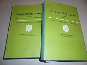 Superstring Theory (2 Volume Set) Introduction, Loop: Green, Michael B.
