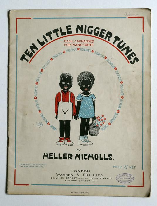 Ten Little Nigger Tunes Easily Arranged for Pianoforte: Heller Nicholls