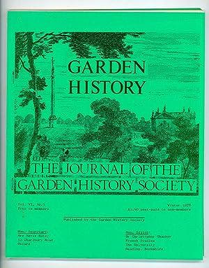 Garden History: The Journal of The Garden: Thaker, Chrisopher (Hon