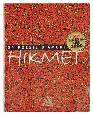 34 poesie d'amore: Nazim Hikmet