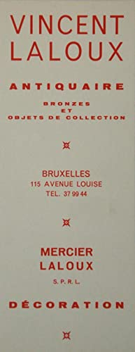 Marque pages Vincent Laloux Antiquaire