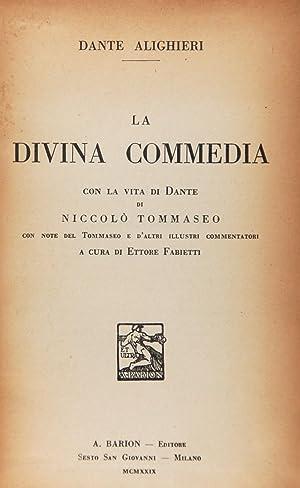 La Divina Commedia: Alighieri, Dante