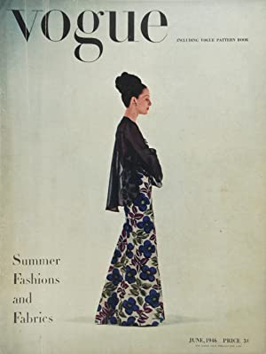 Vogue n. 6 Whole No. 1708 Volume 102 June 1946