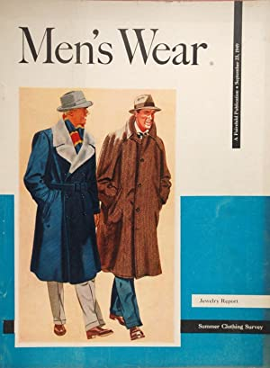Men's Wear ¿ Jewelry Report, Summer Clothing Survey, September 1949
