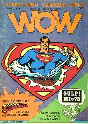 Wow Fanzine di Fumetti - Fantascienza -