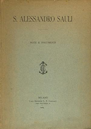 S. Alessandro Sauli - Note e documenti