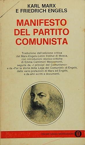 MARX/ENGELS: MANIFESTO DEL PARTITO COMUNISTA