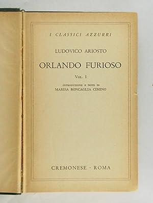 Orlando furioso: Ludovico Ariosto