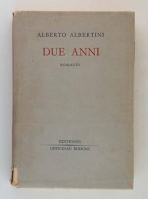 Due anni: Albertini, Alberto