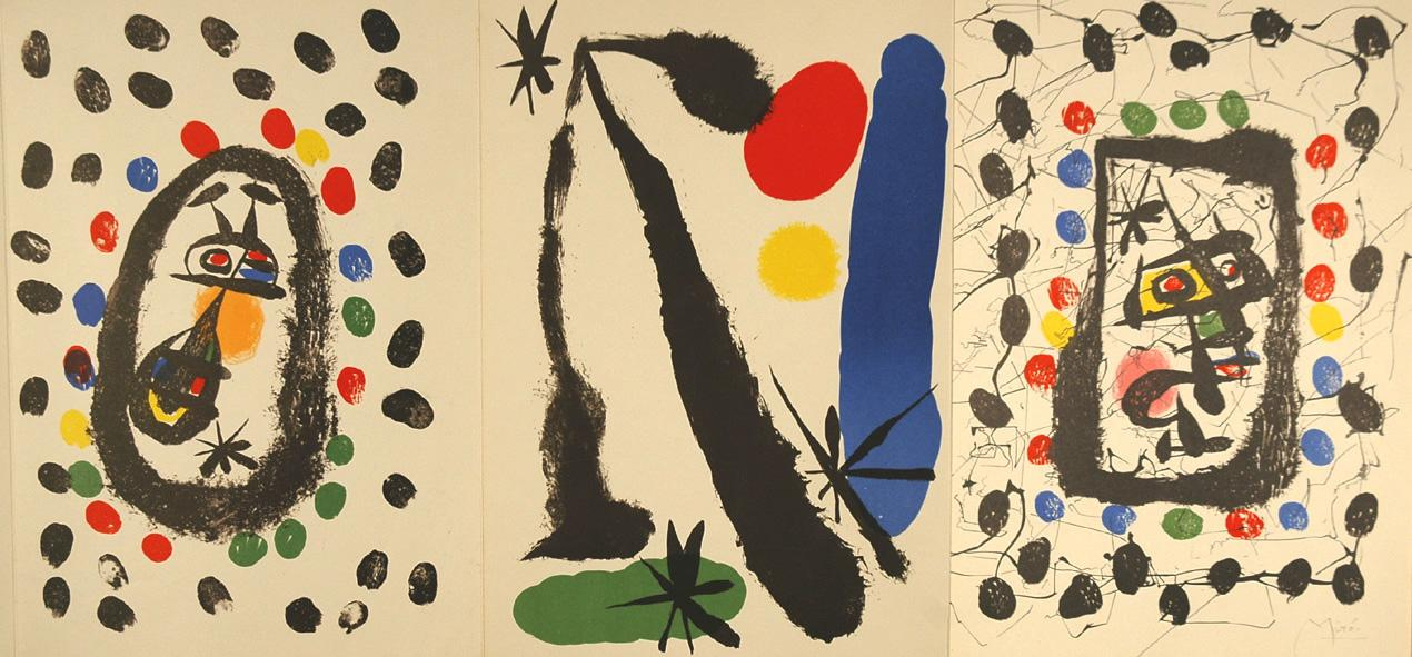Joan Mirò. Drawings and Lithographs from Papeles de Son Armadans in the Collection of Juan ...