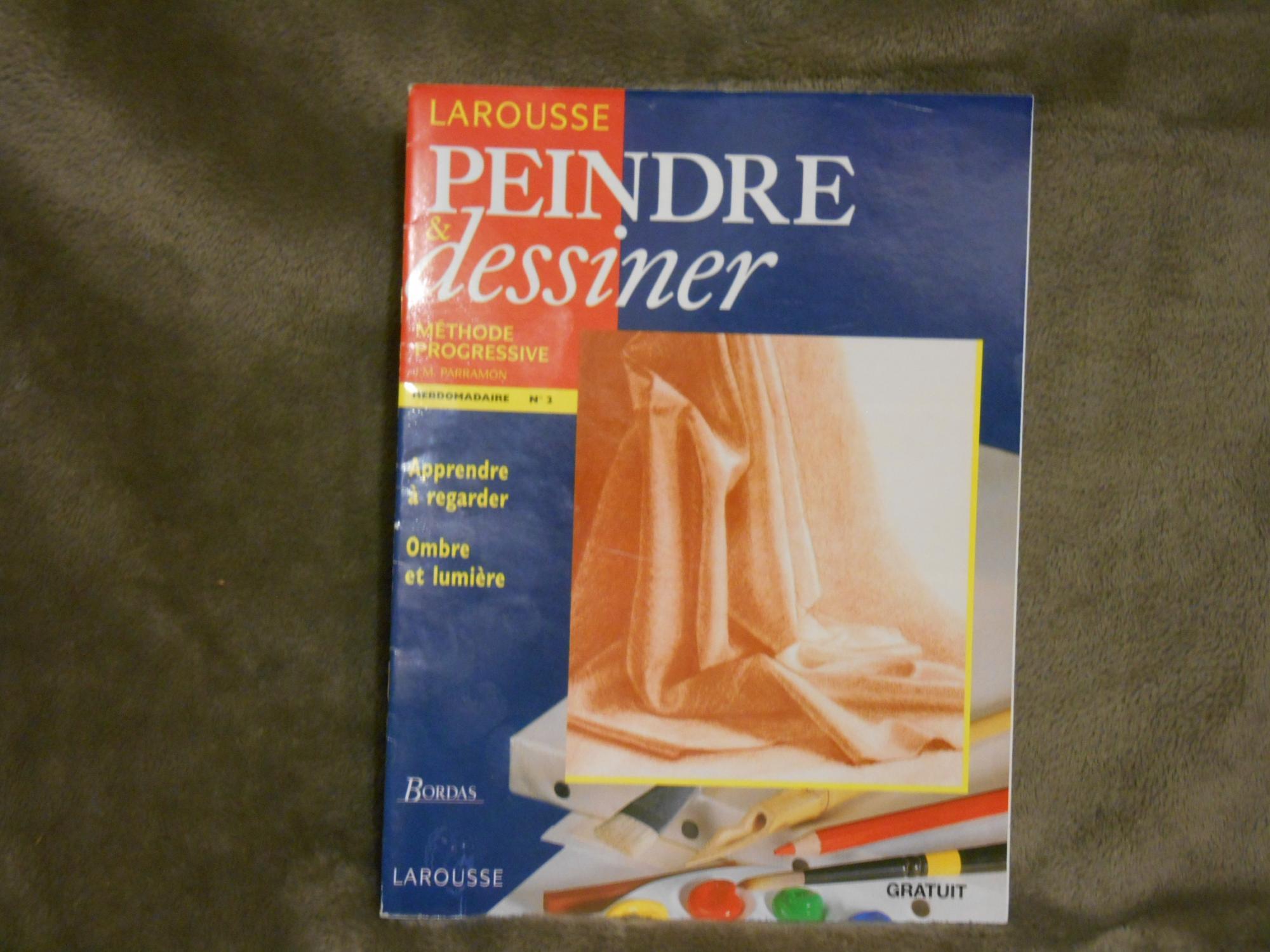Magazine Apprendre La Photo larousse peindre et dessiner methode