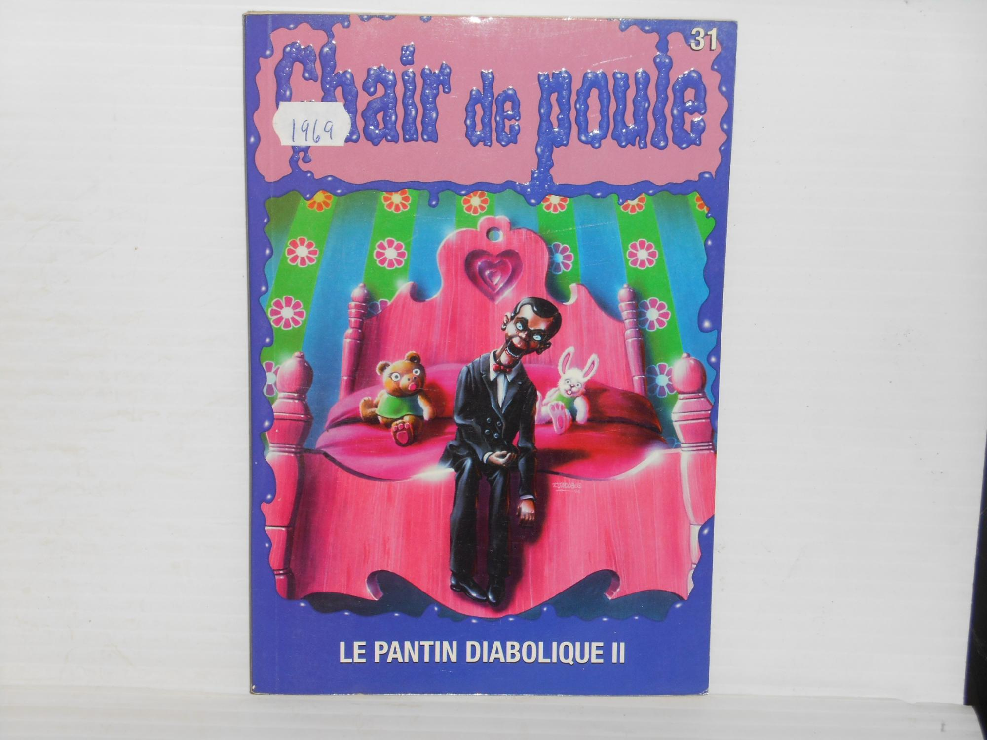 Chair De Poule 31 Le Pantin Diabolique Ii By Stine R L