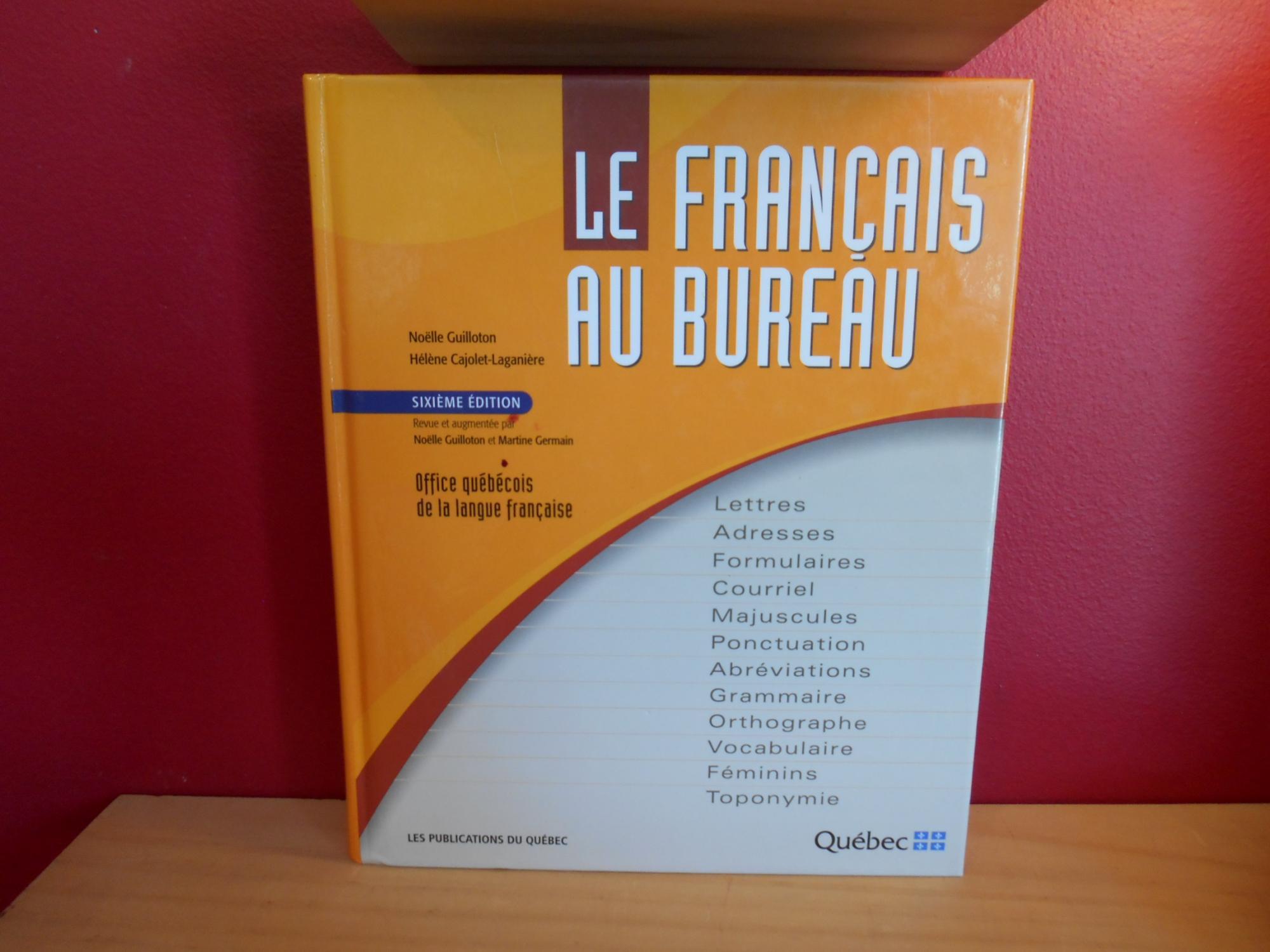 9782551196845 le francais au bureau abebooks