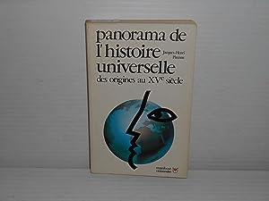 Paronama de l'histoire universelle des origines au: Pirenne, Jacques-Henri