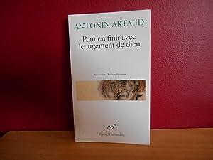 POUR EN FINIR AVEC LE JUGEMENT DE: ARTAUD, ANTONIN