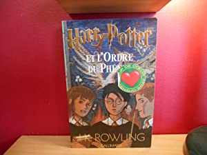 HARRY POTTER T.5 ; HARRY POTTER ET L'ORDRE DU PHENIX