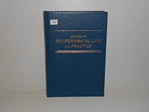Journal of Environmental Law and Practice 2 1992