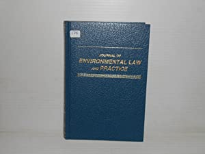 Journal Environmental Law and Practice 1 1991