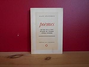 Poemes. Les îles de la nuit, Rivages: Grandbois, Alain