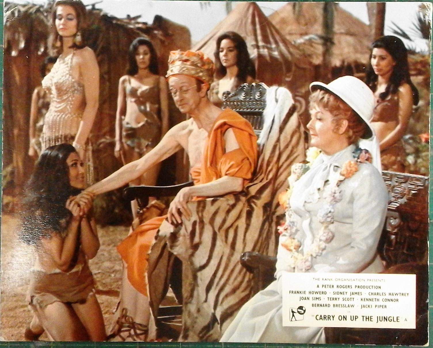 Joan Sims Nude carry on up the jungle', complete 8 film
