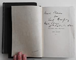 Voyages and Travels of Lord Brassey, KCB, DCL From 1862 to 1894; SIGNED by Lord Brassey