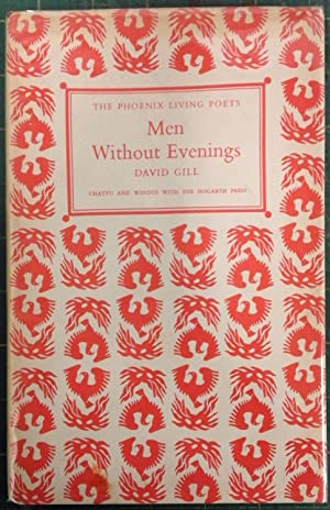 Men Without Evenings. Signed and dedicated by Gill to Dennis Brutus, anti-Apartheid journalist an...