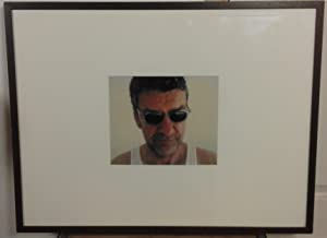 Jack Vettriano Self Portrait, Framed & Glazed Photograph with signed note of authenticity