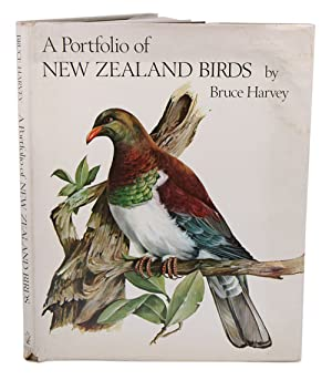 A portfolio of New Zealand birds.: Harvey, Bruce.