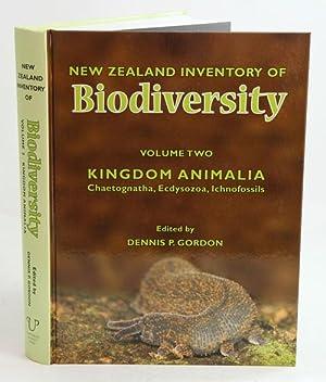 New Zealand inventory of biodiversity, volume two: Gordon, Dennis P.,