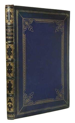 The life and habits of wild animals: Wolf, Joseph]. Elliot,