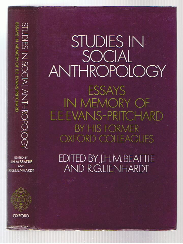 studies in social anthropology essays in memory of e e evans  studies in social anthropology essays in memory of e e evans pritchard evans
