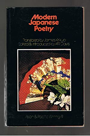 Modern Japanese Poetry: Davis, A R;