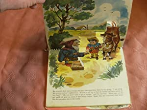 A Child's Story of JACK AND THE BEANSTALK in Living Pictures. Pop-up book.: Ryder, Lillian; ...