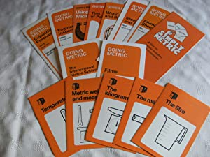 GOING METRIC. 15 leaflets on Metrication, issued