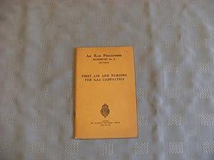 Air Raid Precautions Handbook No.2: FIRST AID