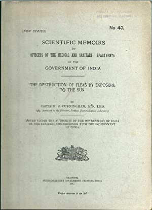 The Destruction Of Fleas By Exposure To The Sun ( Scientific memoirs By Officers Of The Medical And...