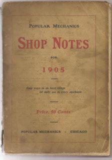 Popular Mechanics Shop Notes For 1905: Various