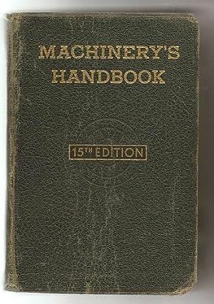 Machinery's Handbook For Machine Shop And Drafting: Oberg And Jones