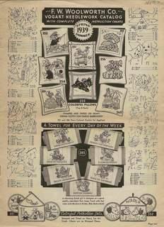 F. W. Woolworth Co Bogart Needlework Catalog: N/A