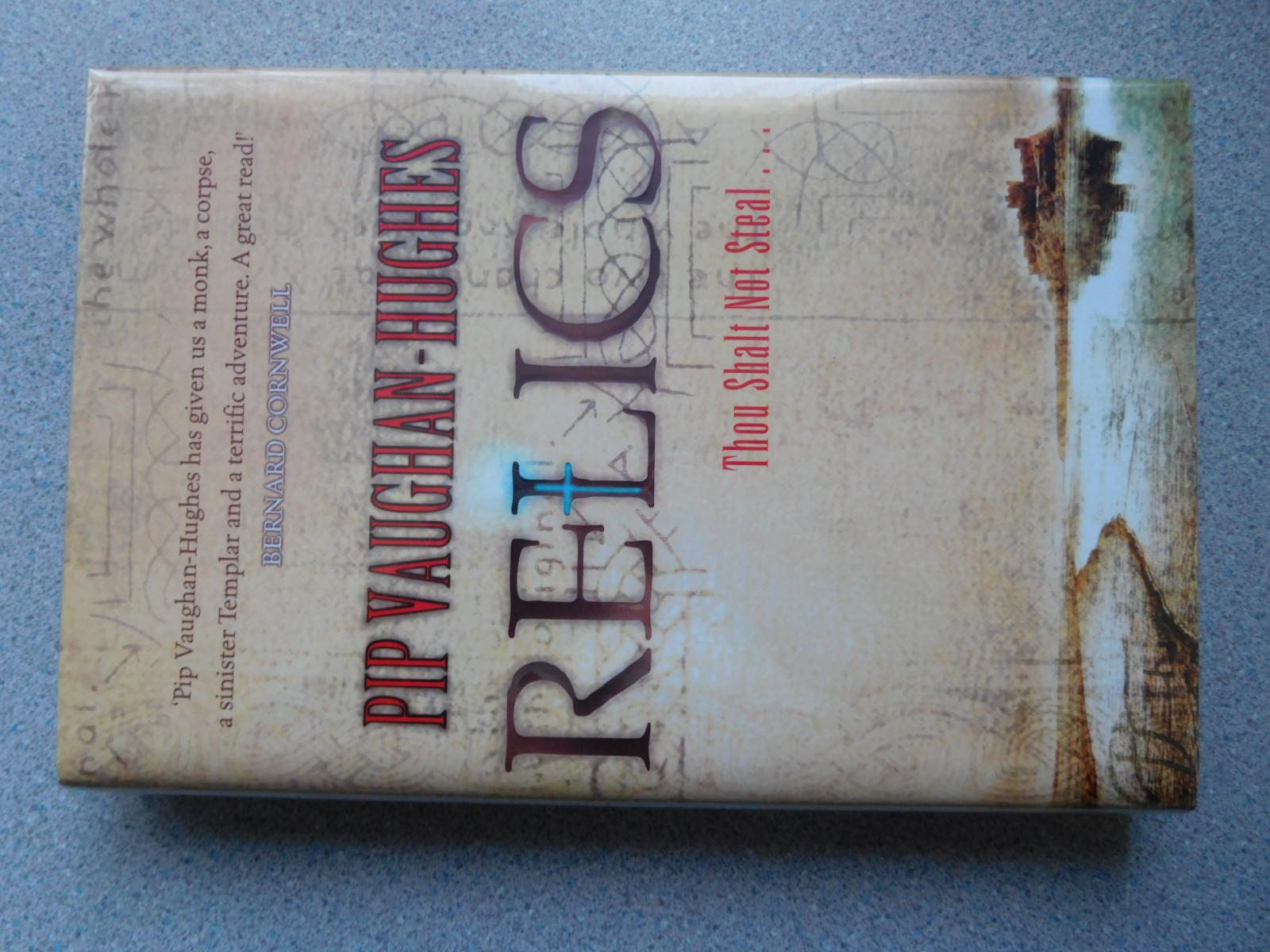 RELICS_THOU_SHALT_NOT_STEAL_Pristine_Signed_&_Dated_First_Edition_Debut_Novel_VaughanHughes_Pip_Comme_Neuf_Couverture_rigide