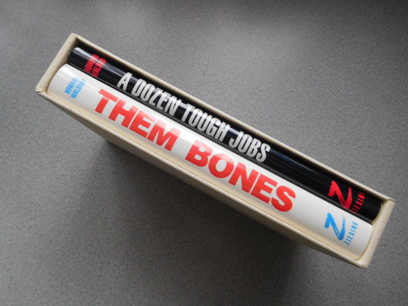 A Dozen Tough Jobs And Them Bones (two Volumes In Pristine Signed Limited Edition State) Waldrop, Howard As New Hardcover