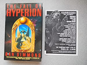THE FALL OF HYPERION (Very Fine Signed: Simmons, Dan