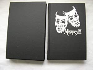 MASQUES IV (Pristine Signed Limited edition in slipcase): Williamson, J.N. (Editor) Dan Simmons, ...
