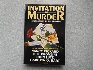 INVITATION TO MURDER (Pristine First Edition): Nancy Pickard, Bill