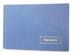 SIGNATURES ( Immaculate Copy with 125 Signatures: King, Stephen (Introducer)