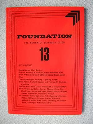 FOUNDATION - THE REVIEW OF SCIENCE FICTION: Pringle, David (Editor)